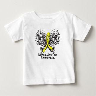 Butterfly Ewing Sarcoma Awareness Tee Shirt