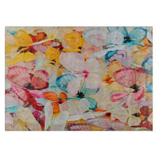 Butterfly exhibit cutting board