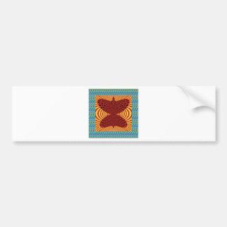 Butterfly Exotic Diamond Infinity Golden Fire GIFT Bumper Sticker