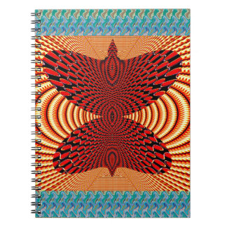 Butterfly Exotic Diamond Infinity Golden Fire GIFT Notebooks