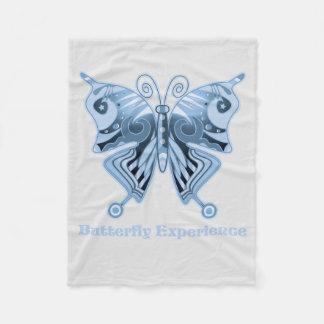 Butterfly Experience fleecedeken: Shirt to design Fleece Blanket