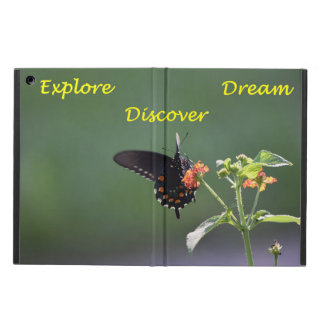 Butterfly Explore, Dream, and Discover iPad Air Case