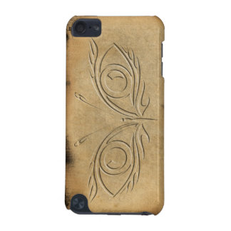 Butterfly eyes - Embossed look with burnt edges iPod Touch 5G Case