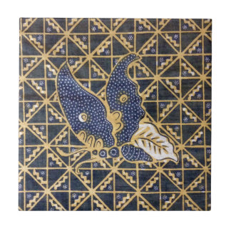 Butterfly Fabric Ceramic Tile