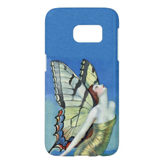 Butterfly Fairy Colorful Monarch Wings Blue Sky