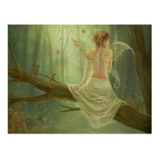 Butterfly Fairy Queen Postcard