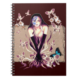 Butterfly Fairy Spiral Note Books