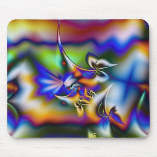 Butterfly Fantasy Fractal Mouse Mat