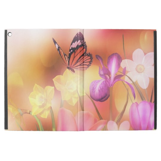 Butterfly fantasy garden iPad pro case