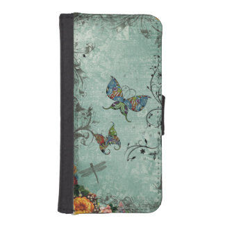 Butterfly Fantasy iPhone SE/5/5s Wallet Case