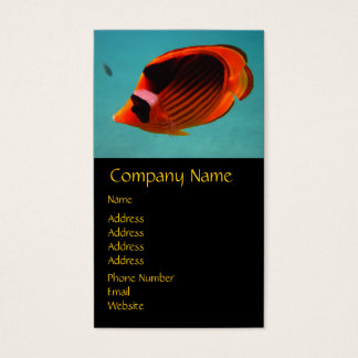 Butterfly Fish Business Card