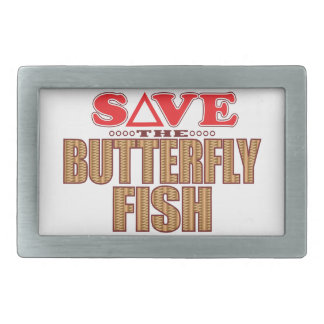 Butterfly Fish Save Belt Buckles