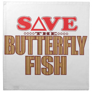 Butterfly Fish Save Napkins