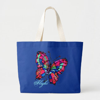 Butterfly Flight Tote Bag