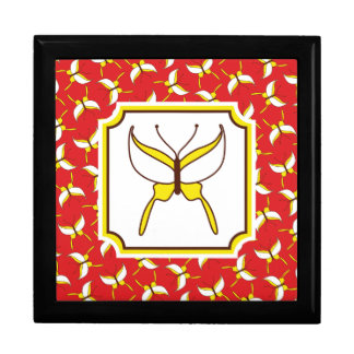 Butterfly Flight Gift Box - Red