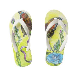 """""""Butterfly"""" - Flip Flops, Kids Flip Flops"""
