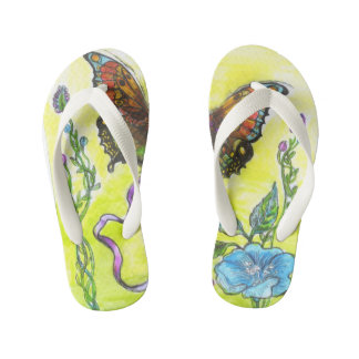 """""""Butterfly"""" - Flip Flops, Kids Kid's Flip Flops"""