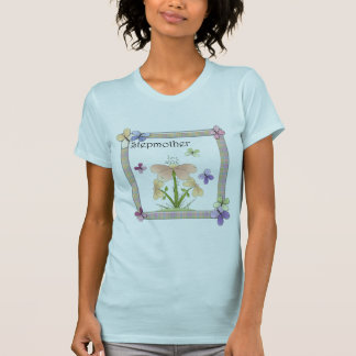 Butterfly Flower Stepmother Mothers Day Gifts T Shirts