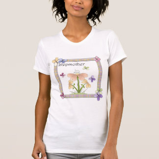 Butterfly Flower Stepmother Mothers Day Gifts T-shirts