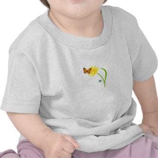 Butterfly Flower T Shirt