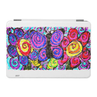 Butterfly flowers fun iPad mini cover