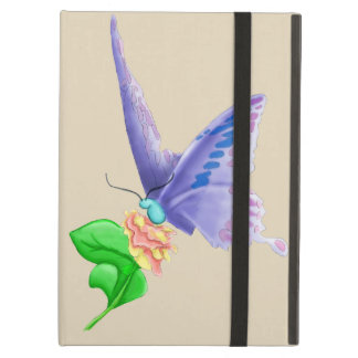 Butterfly Flowers Ipad Cases