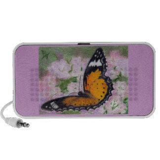 Butterfly Flutter aceo Speaker