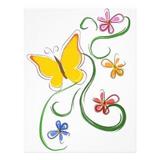 Butterfly Fly Free 21.5 Cm X 28 Cm Flyer