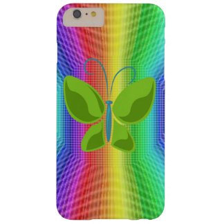 BUTTERFLY FLYING IN A RAINBOW BARELY THERE iPhone 6 PLUS CASE