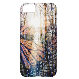 Butterfly Forest iPhone 5C Case