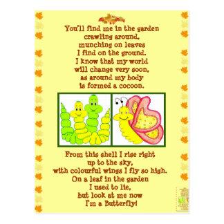 butterfly_form_catterpillar_poem_post_card_postcar postcard