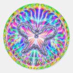Butterfly Freakout Sticker