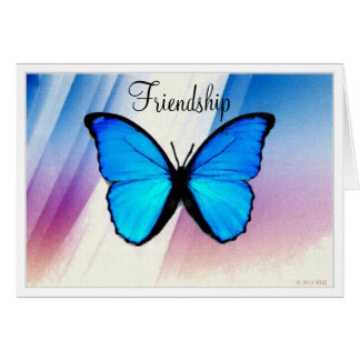 Butterfly Friendship Card or all-purpose Notecard