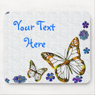 Butterfly Frost Mouse Pad