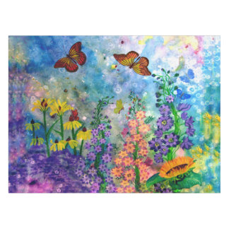 Butterfly Garden (3 Sizes) Table Cloth