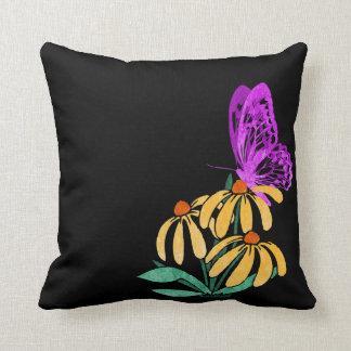 Butterfly Garden Accent Pillow Cushions