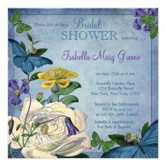 Butterfly Garden Bridal Shower Invites