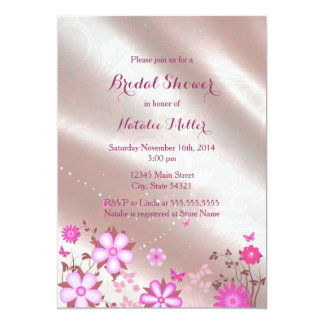 Butterfly Garden Bridal Shower Invite