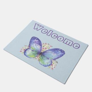 Butterfly Garden Doormat