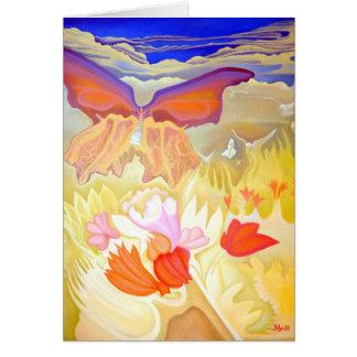 """Butterfly Garden"" Greeting Card"