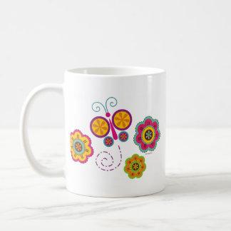 Butterfly Garden Mug