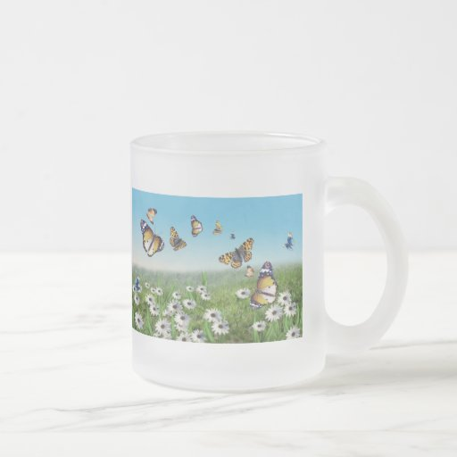Butterfly Garden Coffee Mugs