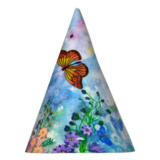 Butterfly Garden Party Hat