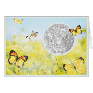 Butterfly Garden - Template Card
