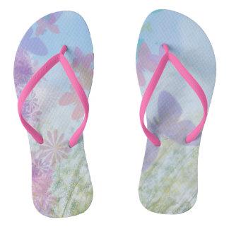 Butterfly Garden Women's Flip Flops