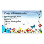 Butterfly Gardeners in Spring Pack Of Standard Business Cards