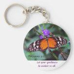 Butterfly - Gentleness Keychain