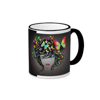Butterfly Girl 1 Mug