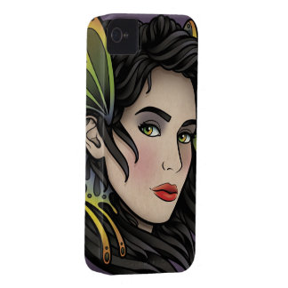 Butterfly Girl iPhone 4 Cases