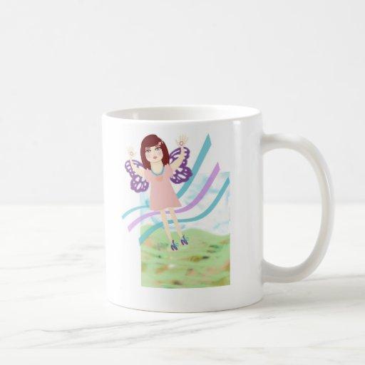 Butterfly Girl Mug